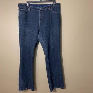 Westport Dark Wash Bootcut Elastic Jeans